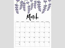 March 2019 Calendar Tumblr