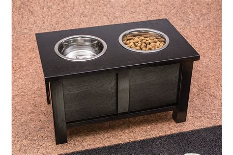 raised dog bowl stand buildsomethingcom