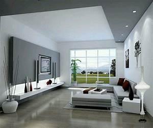 Deco Salon Contemporain : salon moderne gris harmonie esth tique home sweet home living room designs living room ~ Melissatoandfro.com Idées de Décoration