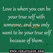 Love is when you can b...
