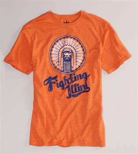 tailgate mens university  illinois basketball  shirt