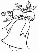 Jingle Bells Cliparts Coloring Pages Christmas sketch template