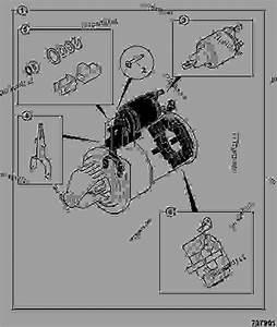 Starter Motor  Ke Build - Agricultural Jcb 802 4
