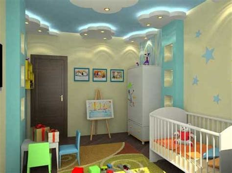 ديكورات جبس اسقف غرف نوم اطفال