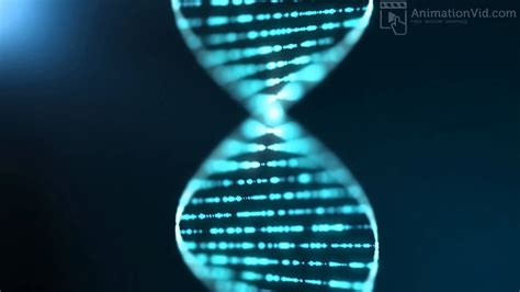 Animated Dna Wallpaper - blue dna sequence background animation