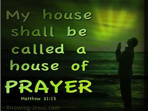Matthew 21 13