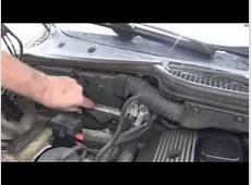 BMW 3 Series E36 Engine Computer Location YouTube