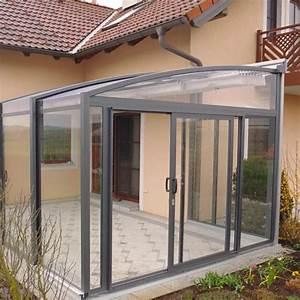 Abri De Terrasse Retractable : abri de terrasse r tractable topaz en forme de v randa et ~ Dailycaller-alerts.com Idées de Décoration