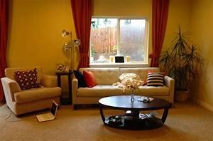 A Happy Yellow Living Room  Before  U0026 After - Maria Killam
