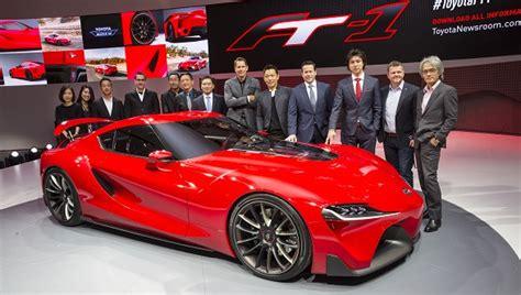 toyotas detroit motor show concept cars toyota