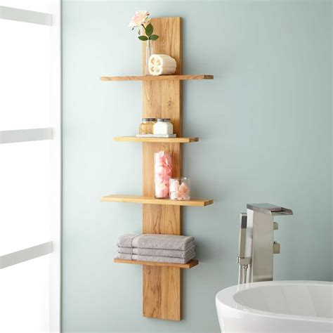 Wulan Hanging Bathroom Shelf Four Shelves Bathroom