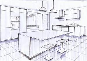 Dessiner Sa Salle De Bain : comment dessiner une maison en 3d apprendre perspective ~ Dallasstarsshop.com Idées de Décoration