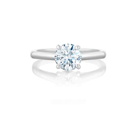 Db Classic Solitaire Engagement Ring J1ex01b20p