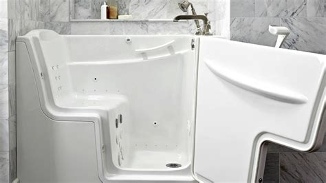 walk in shower tub for seniors pros and cons of walk in tubs for seniors angie s list