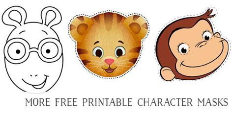 childrens masks  print printable  degree