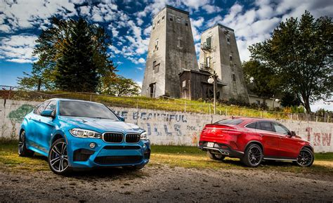 bmw     mercedes amg gle  coupe