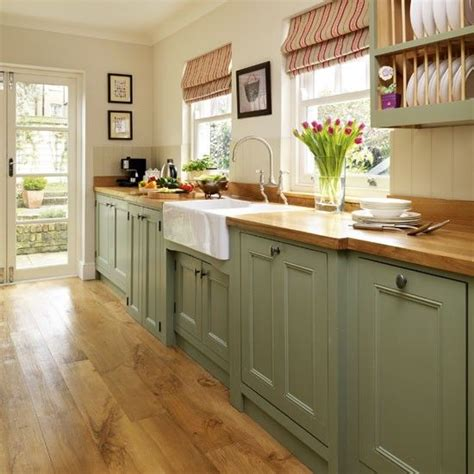 country kitchen green 1800 style kitchen green painted kitchen galley 2804