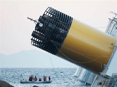 the costa concordia shipwreck has become a creepy tourist