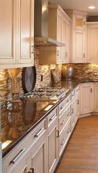colored kitchen cabinets Best 25+ Cream colored kitchens ideas on Pinterest | Cream colored cabinets, Black and cream ...