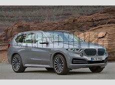 2018 BMW X7 Rendered