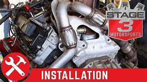 2003-2007 F-250 F-350 Super Duty 6 0l Mbrp Up Pipe Install