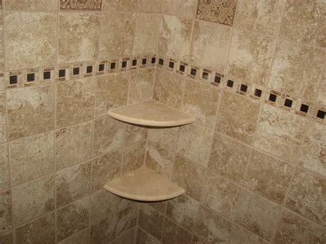 shower shelf installation ceramic tile shower with marble corner shelves marlton nj