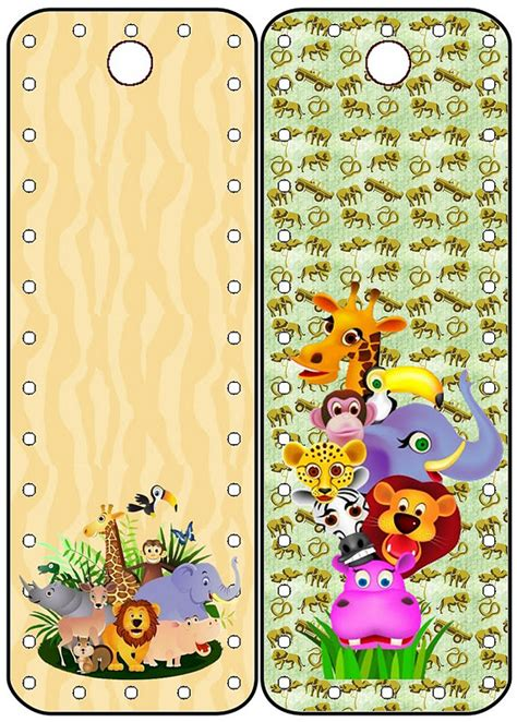 tarjetas de animales de la selva para imprimir gratis imagui