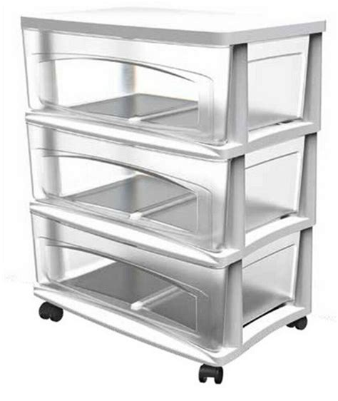 Plastic Drawers by Drawer White Clear Plastic Cart Storage Organizer Shelving