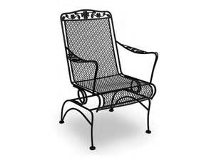 wrought iron patio chairs home design