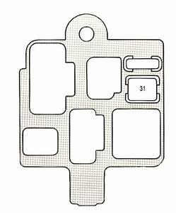 Lexus Es300  1993  - Fuse Box Diagram