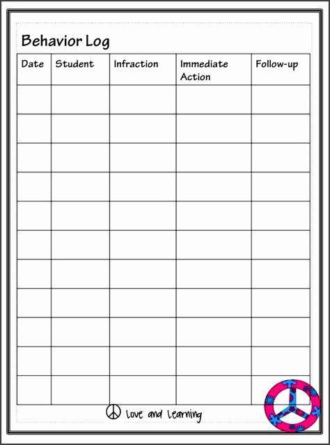 blank class list template sampletemplatess
