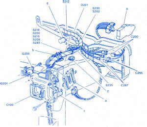 gmc canyon  engine wiring electrical circuit wiring