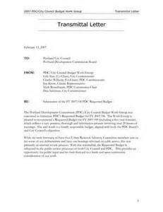 transmittal letter format