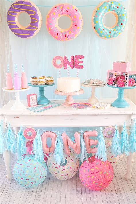 girl 1st birthday party themes 46 best donut party ideas images on