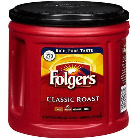 Check out our regular coffee selection for the very best in unique or custom, handmade pieces from our coffee shops. Folgers Regular Coffee 33.9oz Can - Dovs by the Case   Dovs by the Case