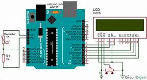 Interfacing Thermistor With Arduino To Measure And Display