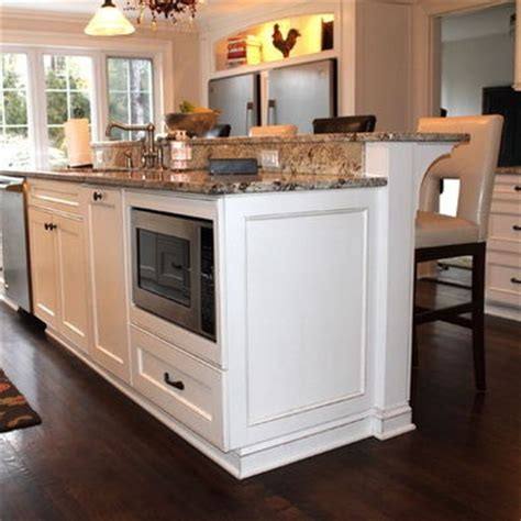 raised kitchen island kitchen island with raised bar design heart of the home pinterest