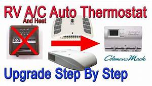 Coleman Mach 8 A  C And Heat Manual To Automatic Thermostat