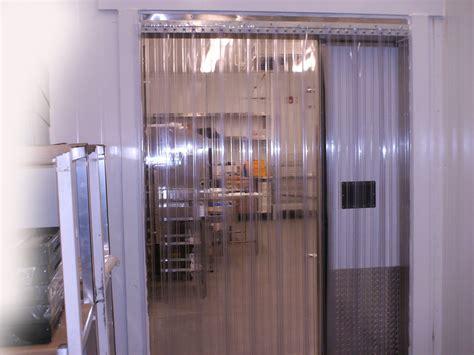 vinyl door curtain 84 quot x 96 quot cooler freezer ribbed