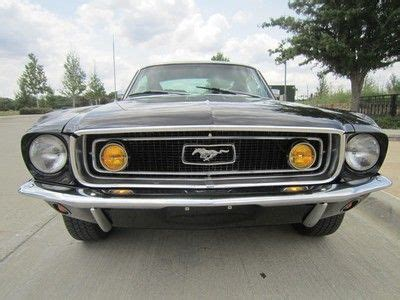 ford mustang gt ps buy used 1968 ford mustang gt fastback 302 v8 jcode auto with ps disc in dallas united