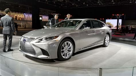 2018 Lexus Ls Pricing Unveiled In Detroit Significantly