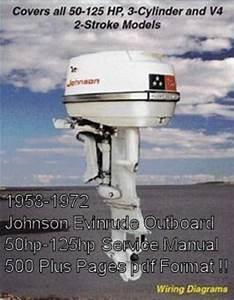 Johnson Evinrude Outboards 1958-72 50
