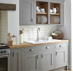 Cuisine taupe 51 suggestions charmantes et tres tendance for Idee deco cuisine avec cuisine blanche et grise et bois