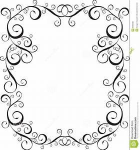 letter border formal letter template With letter a frame