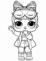Lol Coloring Pages Dolls Printable Doll Bright Choose Colors Favorite sketch template