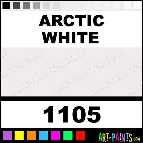 arctic white acrylic enamel paints 1105 arctic white