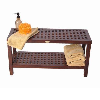 teak shower teak shower bench 30 quot grate lattice master bathroom
