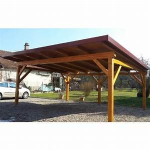 Carport 2 Voitures Bois : abri carport 2 voitures achat vente carport abri ~ Dailycaller-alerts.com Idées de Décoration