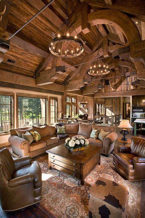 amazing log cabin interiors national land realty blog
