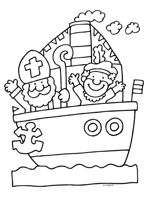 Kleurplaat Sinterklaas 2016 Afdrukken by Www Kleurplaten Nl Voor Iedereen Die Graag Kleurt Is